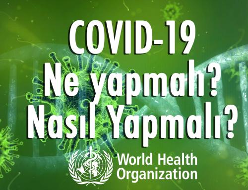 Koronavirüsü ve Korunma Yolları