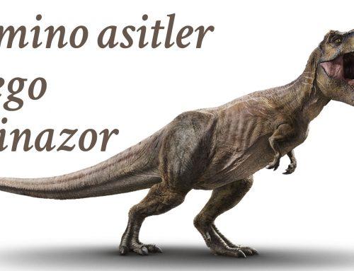 Amino asitler, Lego, Dinozor